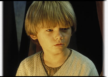 Picture of young Anakin