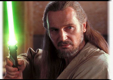 Qui-Gon ready for action