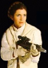 Leia with another gun