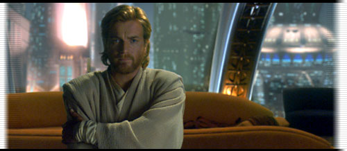 Young Obi-Wan on a couch
